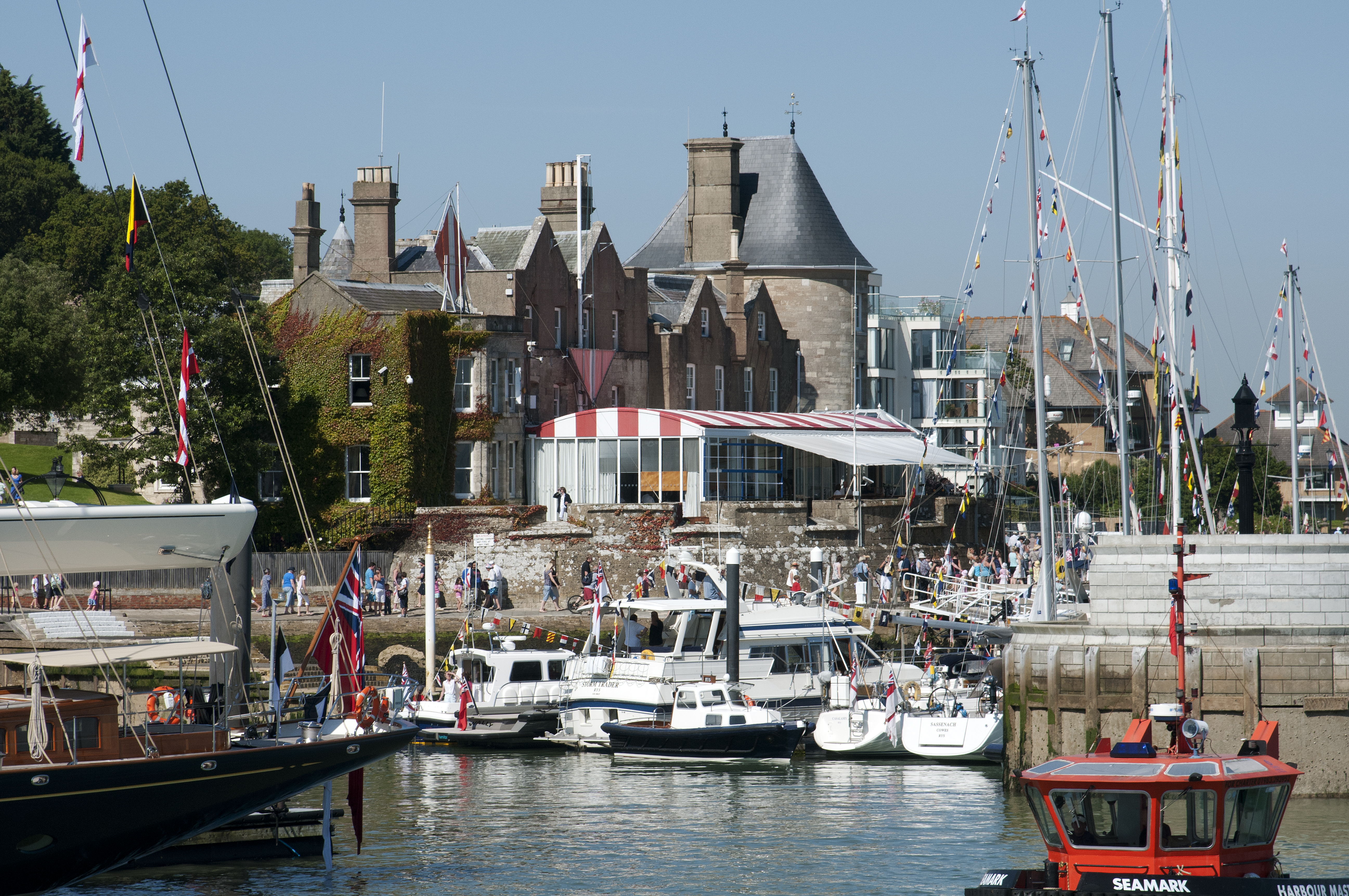 Travel in style to Cowes Week 2018