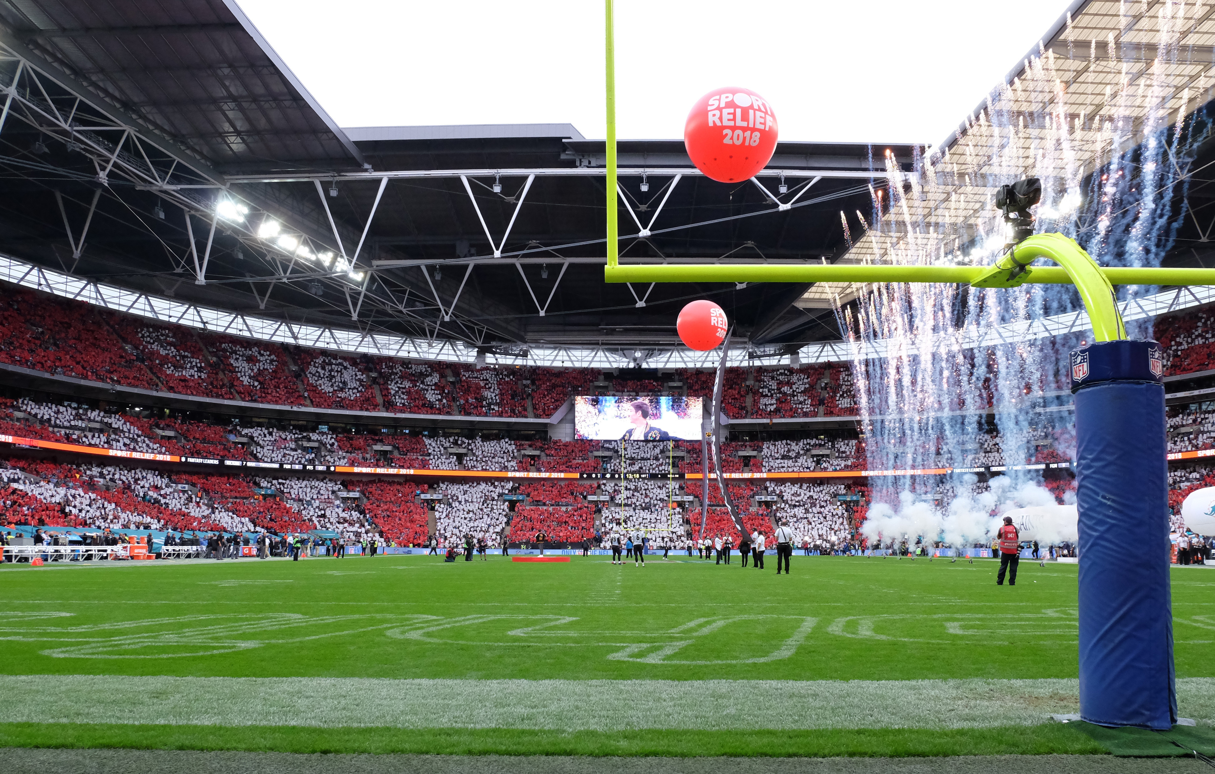 Let SMC Coach Hire take you to and from any NFL London game.